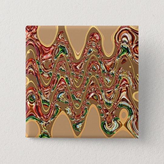 Golden Diamond Wave Pattern Review Button