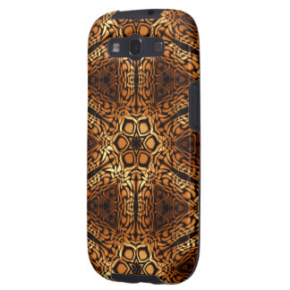 Golden Diamonds in Pattern Galaxy S3 Cover