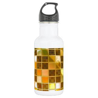 Golden Disco Ball 18oz Water Bottle