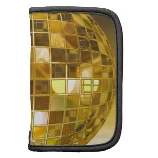 Golden Disco Ball Planner