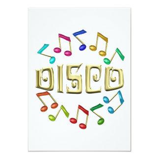 GOLDEN DISCO CARD