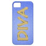 golden DIVA iPhone 5 Cases
