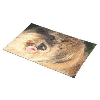Golden Dog Placemat