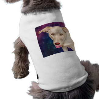 Golden Dog with a Strawberry Like Nose T-Shirt