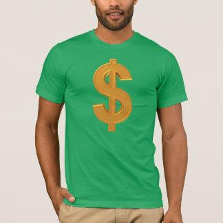 Golden Dollar Sign T-Shirt! T-Shirt