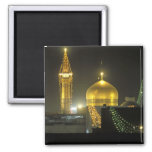 Golden dome of the Imam Reza Shrine Complex at Magnet