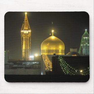 Golden dome of the Imam Reza Shrine Complex at Mouse Pad
