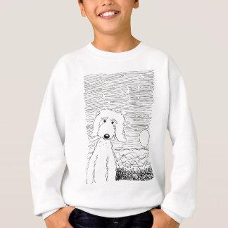 Golden Doodle on the Beach Sweatshirt