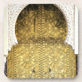 Golden Door and an Arch Way, Morocco Beverage Coasters