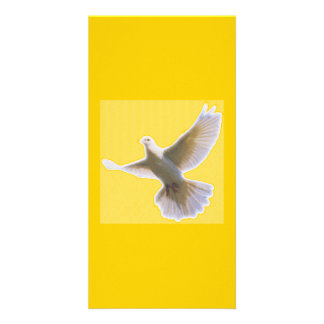 Golden Dove Bookmarker Card