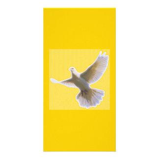 Golden Dove Bookmarker Photo Card