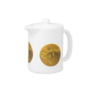 Golden Dove of Peace - Holy Spirit Teapot