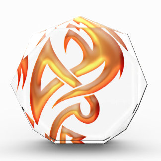 Golden Dragon Acrylic Award