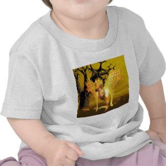 Golden Dragon Baby T-Shirt
