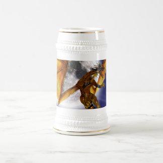 Golden Dragon Beer Stein