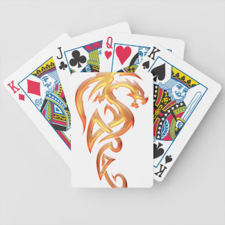 Golden Dragon Bicycle Playing Cards