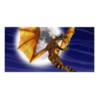 Golden Dragon Card