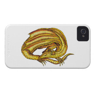 Golden Dragon iPhone 4 Cover