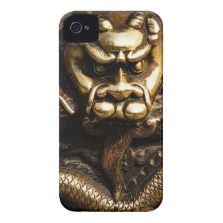 GOLDEN DRAGON iPhone 4 Case-Mate CASES