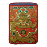 Golden dragon Chinese embroidery Qing dynasty MacBook Air Sleeves
