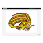 Golden Dragon Decal For Laptop