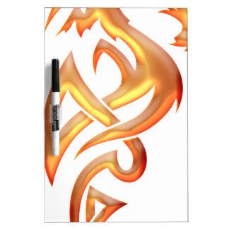 Golden Dragon Dry-Erase Whiteboard