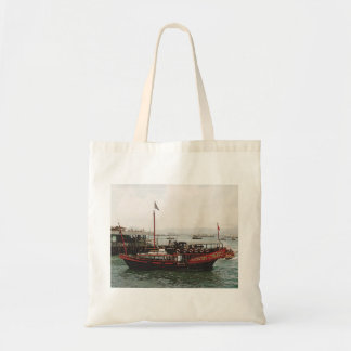 Golden Dragon Ferry Hong Kong Crafts and Shopping Tote Bag
