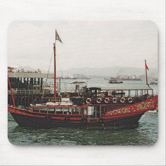Golden Dragon Ferry Hong Kong Mousepads