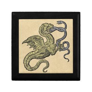 Golden Dragon Fighting Snake Gift Box