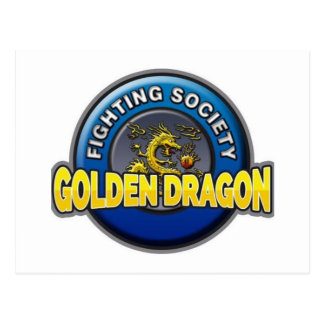 Golden Dragon Fighting Society Store Postcard