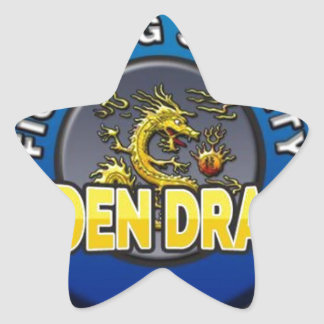 Golden Dragon Fighting Society Store Star Stickers