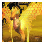 Golden Dragon  Invitations