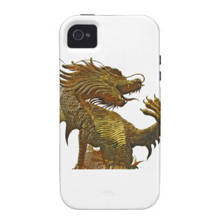 golden dragon iPhone 4/4S cover