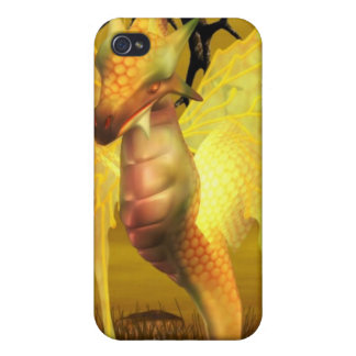 Golden Dragon iPhone 4 Case