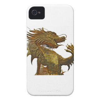 golden dragon iPhone 4 cases