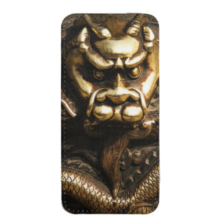 GOLDEN DRAGON iPhone 5 POUCH