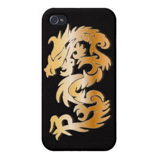 Golden Dragon Case For iPhone 4