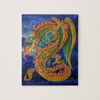 Golden Dragon Jigsaw Puzzle