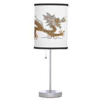 Golden Dragon Lamp
