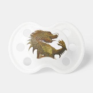 golden dragon pacifier