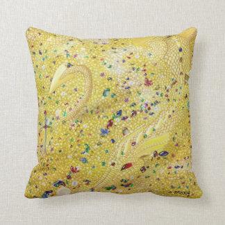 Golden Dragon Pillow