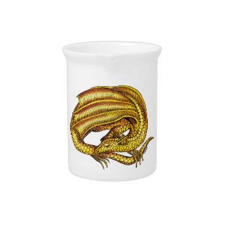 Golden Dragon Drink Pitchers