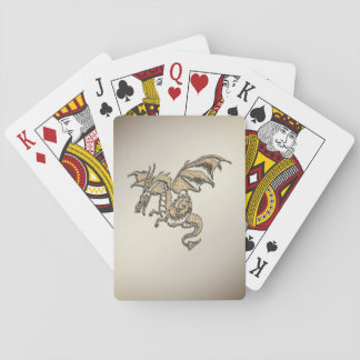 Golden Dragon Playing Cards