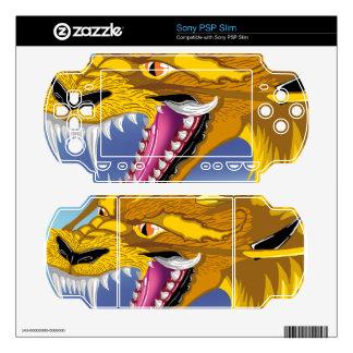 Golden Dragon PSP Slim Skins