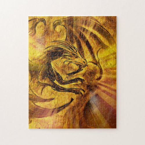 Golden Dragon Puzzle