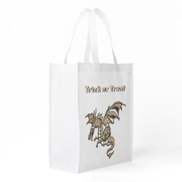 Halloween Themed Golden Dragon Trick or Treat Bag