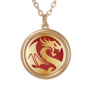 Golden Dragon Jewelry Zazzle
