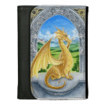 Golden Dragon wallet by Meredith Dillman