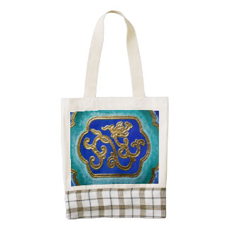 Golden Dragon Zazzle HEART Tote Bag