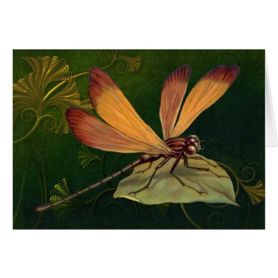 Golden Dragonfly 2 - Customize Card